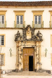 Entrance to Pavilion at the University. Coimbra . Portugal Royalty Free Stock Image