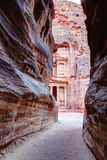 Entrance to Petra Royalty Free Stock Images