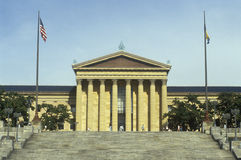 Entrance to the Philadelphia Museum of Art, Philadelphia, PA Stock Photos