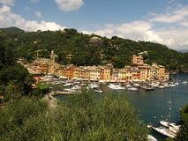 Entrance to Portofino - Italy Royalty Free Stock Photos