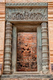 Entrance to Prasat Kravan in Cambodia Royalty Free Stock Image