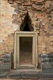 Entrance to Prasat Sikhoraphun temple, Surin, Thailand Royalty Free Stock Photos