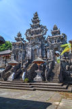 Entrance to Pura Besakih Balinese  temple Royalty Free Stock Image