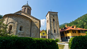 Entrance to Rača monastery established in 13. century, near Tara national park Royalty Free Stock Images