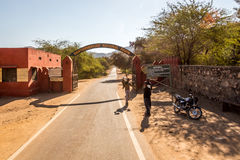 Entrance to Ranthambore Royalty Free Stock Photography