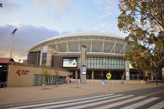 Entrance to the redeveloped Adelaide Oval Stock Photos