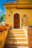 Entrance to the residential house Stock Photography