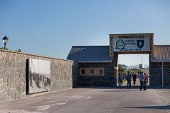 Entrance to Robben Island Prison Stock Photo