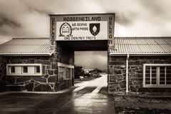 Entrance To Robben Island Prison Stock Photography