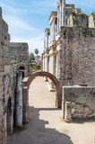 Entrance to roman amphitheatre Stock Images