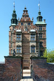 Entrance to Rosenborg Castle Copenhagen Royalty Free Stock Photography