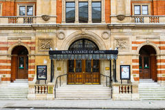 Entrance to the Royal College of Music Stock Image