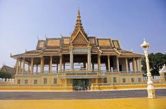 Entrance to the Royal Palace in Phnom Penh. Cambodia Stock Photo