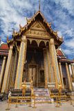 Entrance to the Royal Pantheon at Wat Phra Kaew stock image