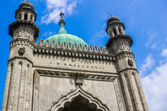 Entrance to Royal Pavilion. Entrance to the Royal Pavilion in Brighton, London Royalty Free Stock Photo