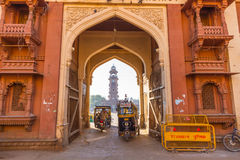 Entrance to Sardar Market in Jodhpur Stock Images