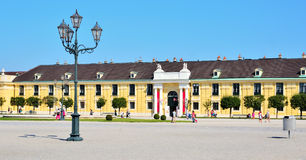 Entrance to Schonbrunn Palace Stock Photography