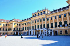 Entrance to Schonbrunn Palace Royalty Free Stock Images