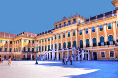 Entrance to Schonbrunn Palace Stock Photos