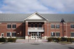 Entrance to a school building