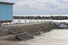 Entrance to the sea Stock Photos
