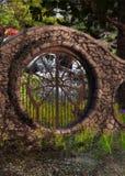 Entrance to secret garden royalty free stock photo