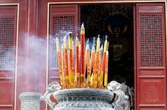 Entrance to the Shaolin Temple, China Stock Photo