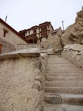 Entrance to Shey Monastery and Palace, Leh Ladakh region in Kashmir Royalty Free Stock Image