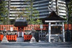 Entrance to the Shinto shrine Stock Image