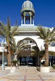 Entrance to shopping center in Eilat, Israel Royalty Free Stock Image
