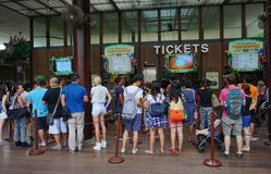 Entrance to Singapore Zoo Royalty Free Stock Images