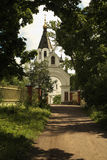 Entrance to the Skete of All Saints. Royalty Free Stock Image