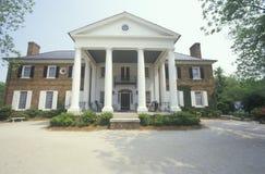 The entrance to a Southern plantation, Charleston, SC Stock Image