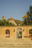 Entrance to St. Neofitas monastery. Royalty Free Stock Photo