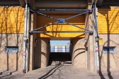 Entrance to stadium Stock Photography