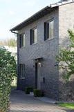 Entrance to a suburban house Stock Photo