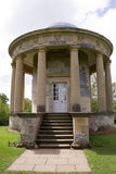 Entrance to summer hoouse. Entrance to Summer House. Part of the grounds of a stately home in Yorkshire royalty free stock photography