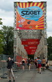 Entrance to Sziget Royalty Free Stock Photo