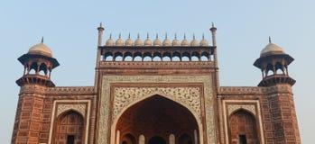Entrance to the Taj Mahal Royalty Free Stock Photos