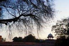 The entrance to Taj Mahal, India Stock Image