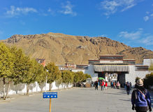 Entrance to Tashilhunpo Monastery Stock Image