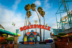 Free Entrance To The Boardwalk, In Santa Cruz  Royalty Free Stock Images - 53177829