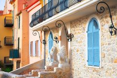 Entrance To The House In Antibes France Stock Photography