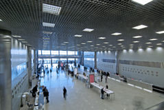 Free Entrance To The Large  Hall Stock Image - 16458151