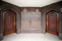 Free Entrance To The Mausoleum On The Grave Of Poet Nizami Ganjavi, Architect Farman Imamkuliyev Royalty Free Stock Image - 154337476