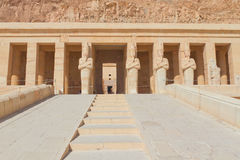 Entrance To The Temple Of Queen Hatshepsut Stock Image