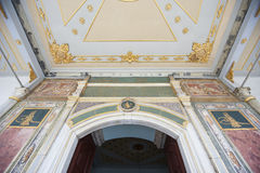 Entrance to the throne room at Topkapi Palace Royalty Free Stock Images
