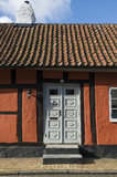 Entrance to timber framed house Royalty Free Stock Images
