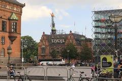 Entrance to Tivoli Park, Copenhagen Stock Photography