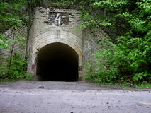 Entrance to the tunnel Stock Image